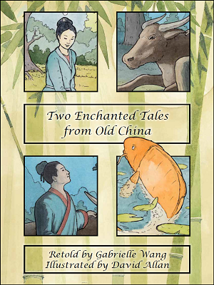 two enchanted tales from old china cover
